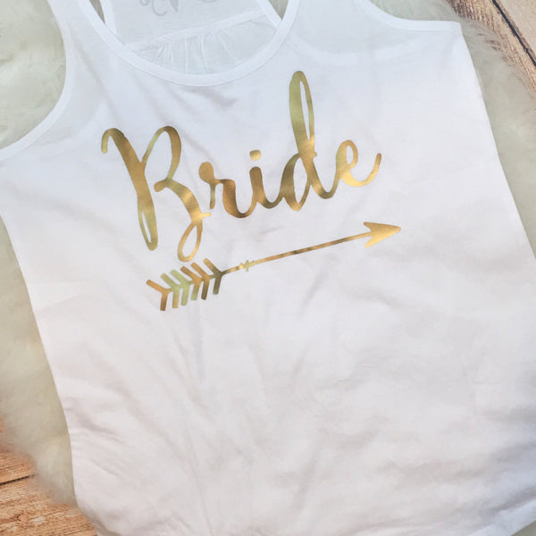 Bride Tribe Bachelorette Party Matching Tanks