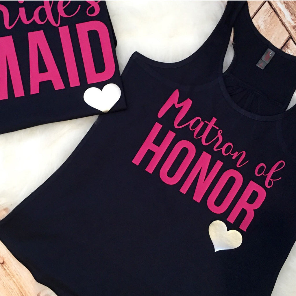 Matron of Honor Bachelorette Party Tank or Tee