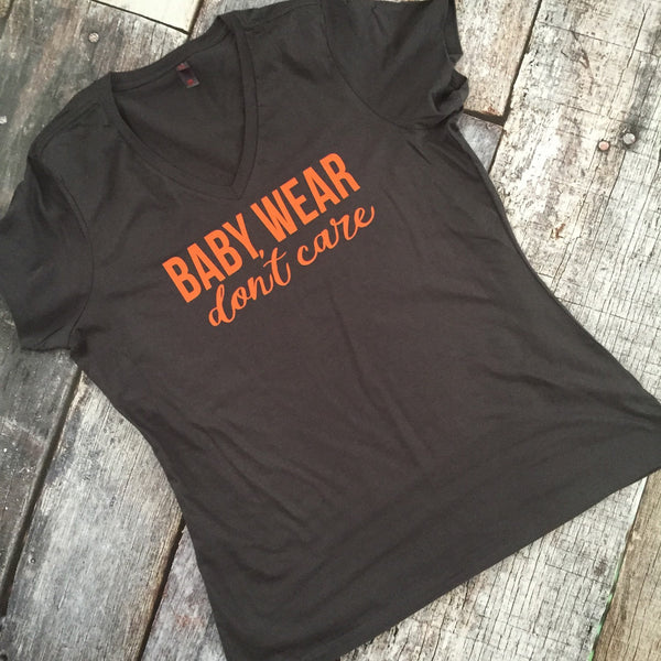 Baby Wear Don't Care  Shirt or Tank