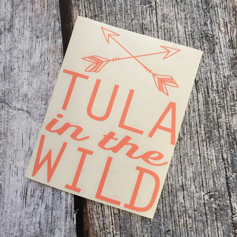 Tula in the Wild Decals