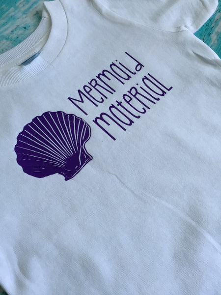 Mermaid Material Baby & Kids Tee
