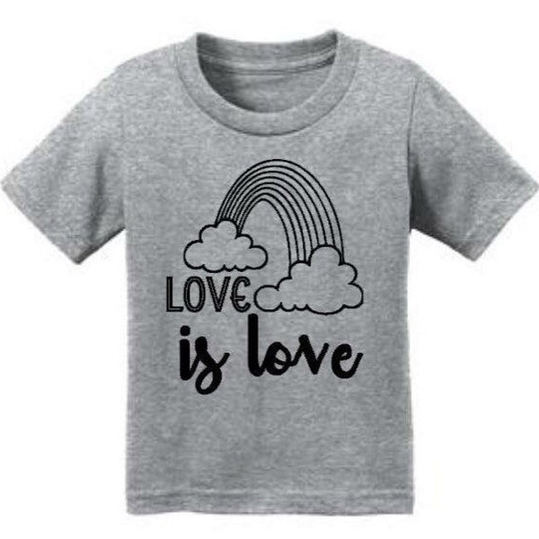 LOVE IS LOVE Marriage Equality Tee