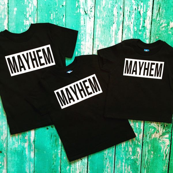 Mom of Mayhem Matching Set