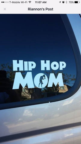 Dance Mom Car Decal