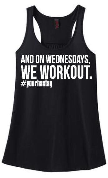 Custom Workout Tank