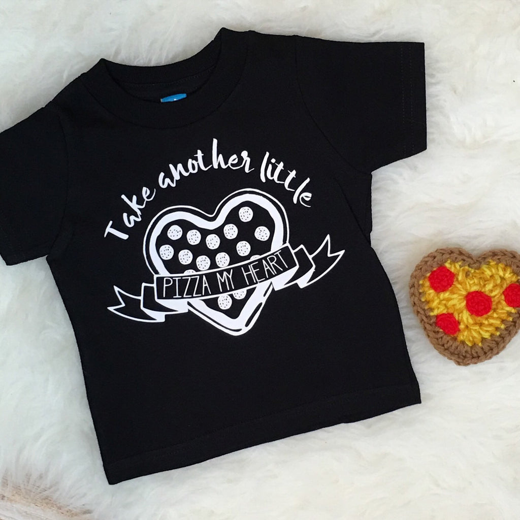 Kids Pizza My Heart Tee