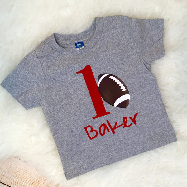 Sports Theme 1st Birthday Shirt