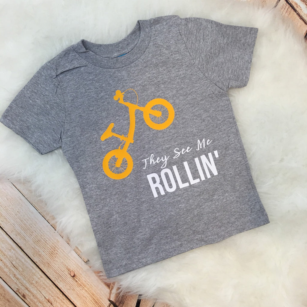 Push Bike They See Me Rollin' Tee