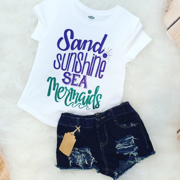 Mermaid Funny Kid Children's Tee