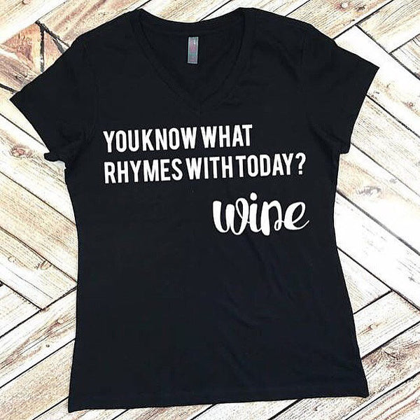 Funny Wine Shirt for Women