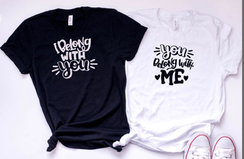 I Belong With You + You Belong With Me Adult Set