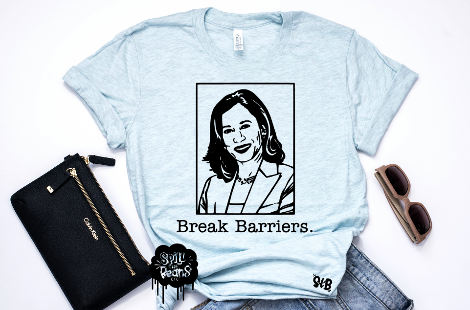 Break Barriers *BLACK INK ONLY* Adult Shirt
