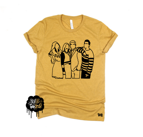 Schitt's Creek silhouette Mom tee or tank