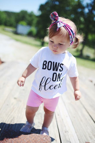 Bows on Fleek Sassy Tee or Bodysuit