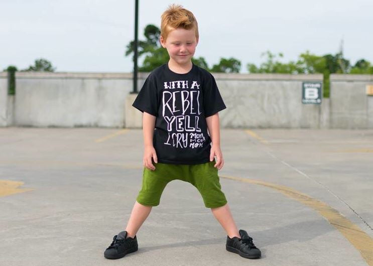 Rebel Yell Kids Funny Tee