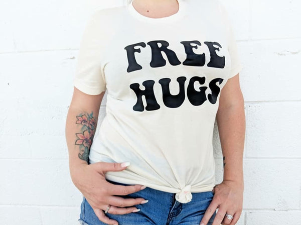 Free Hugs Adult Tee Or Tank