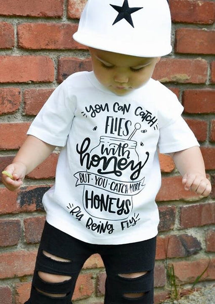 You Can Catch More Honeys By Being Fly Toddler Tee