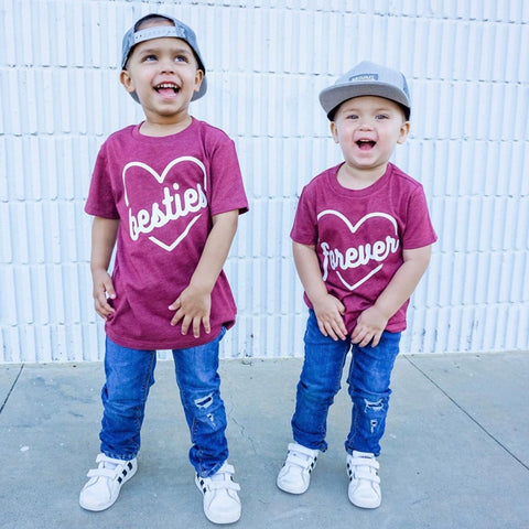 Besties Forever Matching Kid's Tees Or Bodysuits