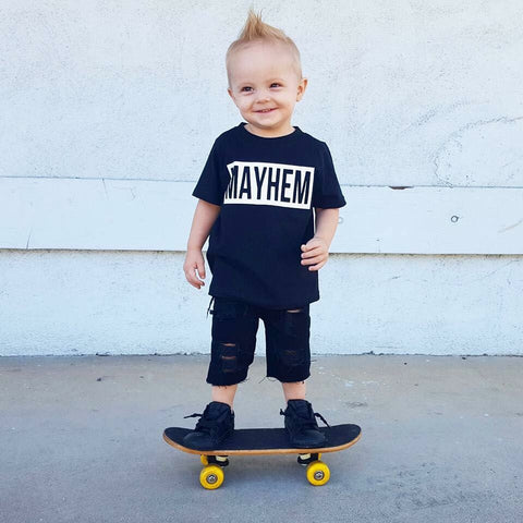 Mayhem Kid's Tee or Bodysuit