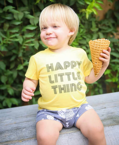 Happy Little Thing Tee or Bodysuit
