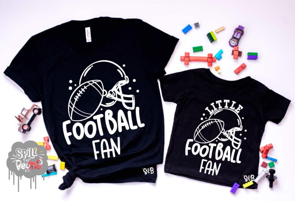 Football Fan Parent and Me Matching Set