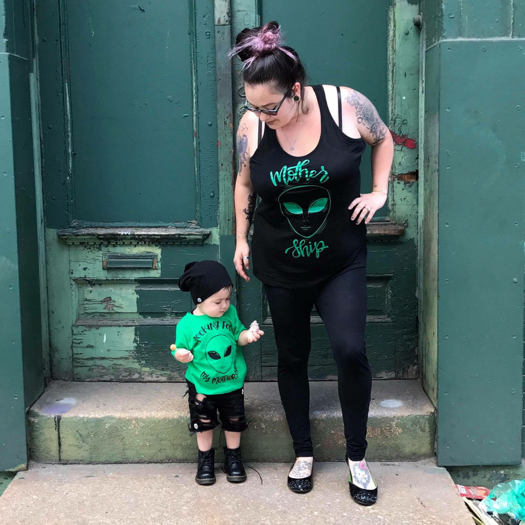 Mothership Matching Mommy and Me Tees