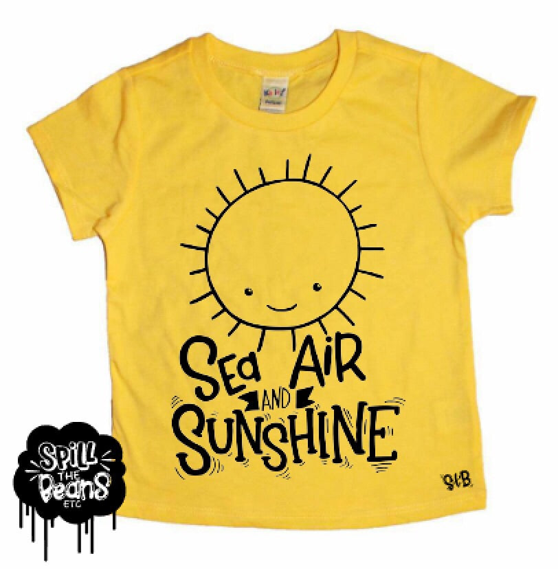Sea Air & Sunshine Kids Shirt