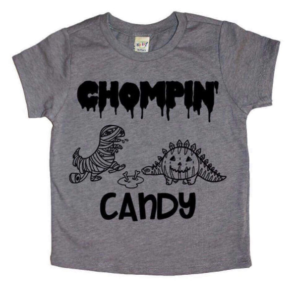 Chompin' Candy Halloween Tee or Bodysuit