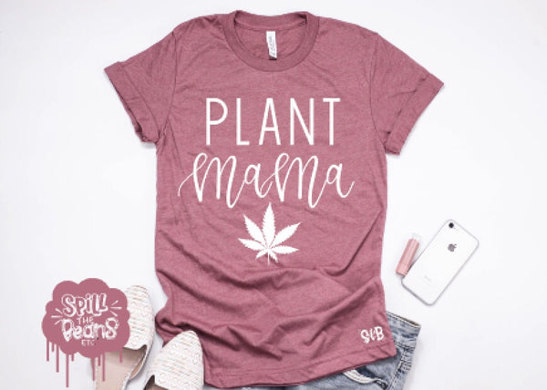 Plant Mama Hemp Adult Tee Or Tank