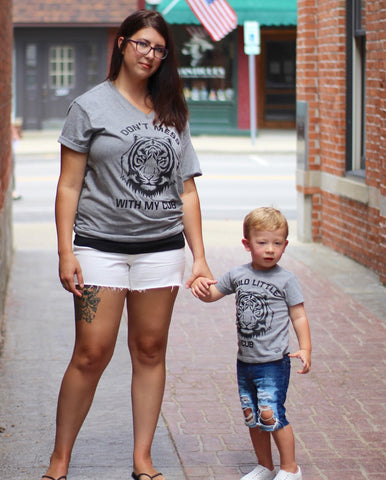 Don't Mess With My Cub + Wild Cub Mommy and Me Matching Set