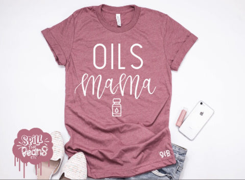 Oil Mama Adult Tee Or Tank