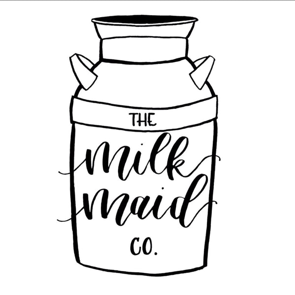 Milk Maid Mermaid Decal