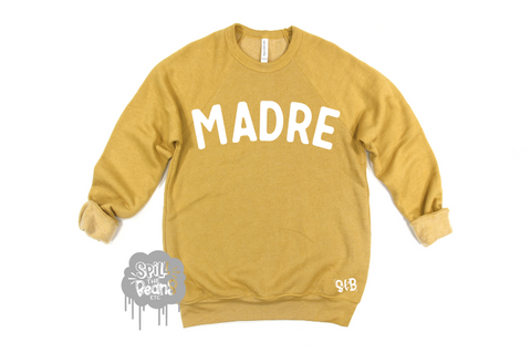 Madre Fleece crewneck pullover