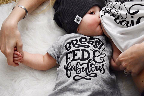 Breastfed and Fabulous Tee/Bodysuit