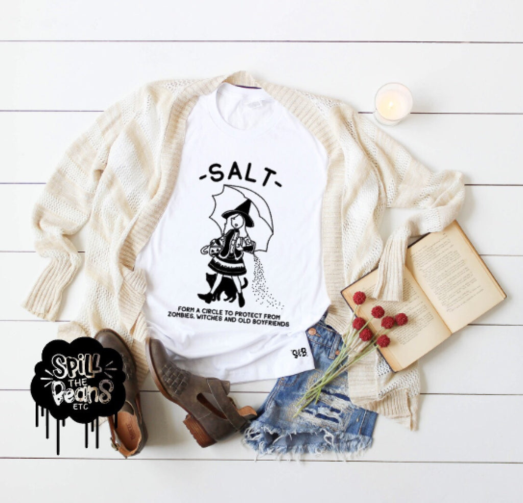 Salt Form A Circle Adult Tee Or Tank