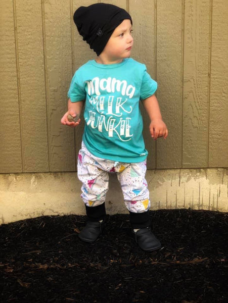 Mama Milk Junkie Special Edition Kid's Tee or Bodysuit