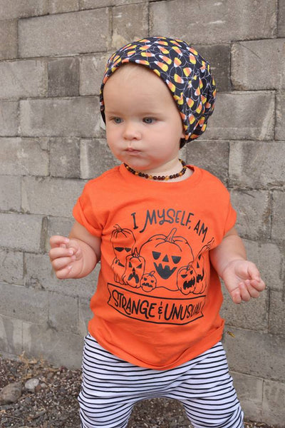 I Myself Am Strange and Unusual Pumpkin Halloween Shirt