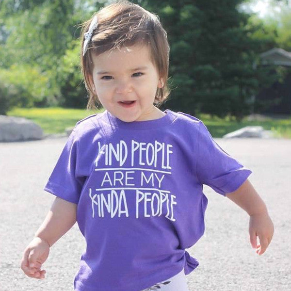 Kind People Are My Kind Of People Kid's Shirt