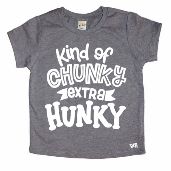 Kind Of Chunky Extra Hunky Kid's Shirt