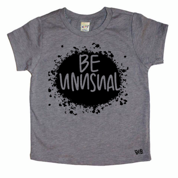 Be Unusual Kid's Tee