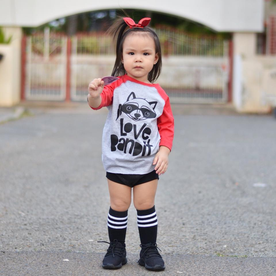 Love Bandit Kid's Raglan