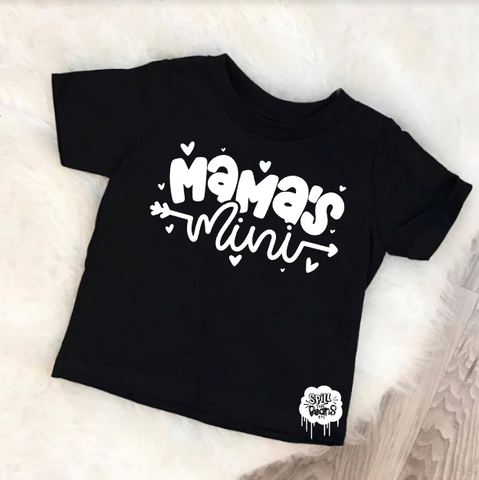 Mama's Mini Kid's Bodysuit or Tee
