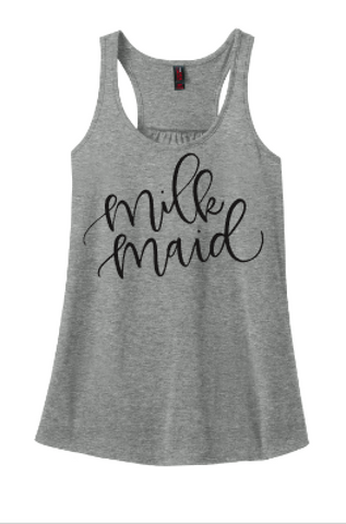 Milk Maid Tee or Tank