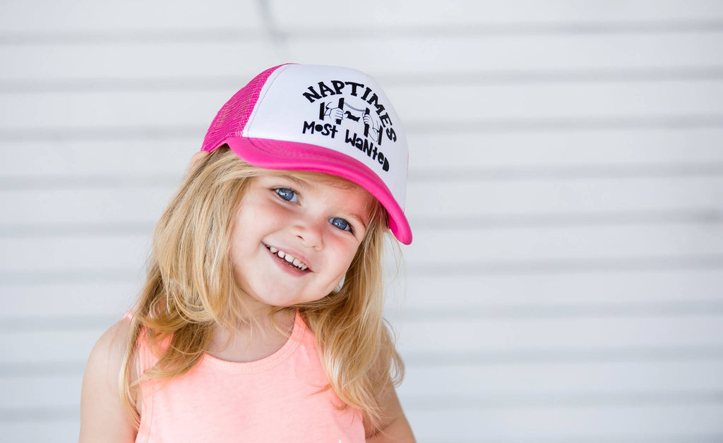 Naptime's Most Wanted Toddler SnapBack Trucker Hat