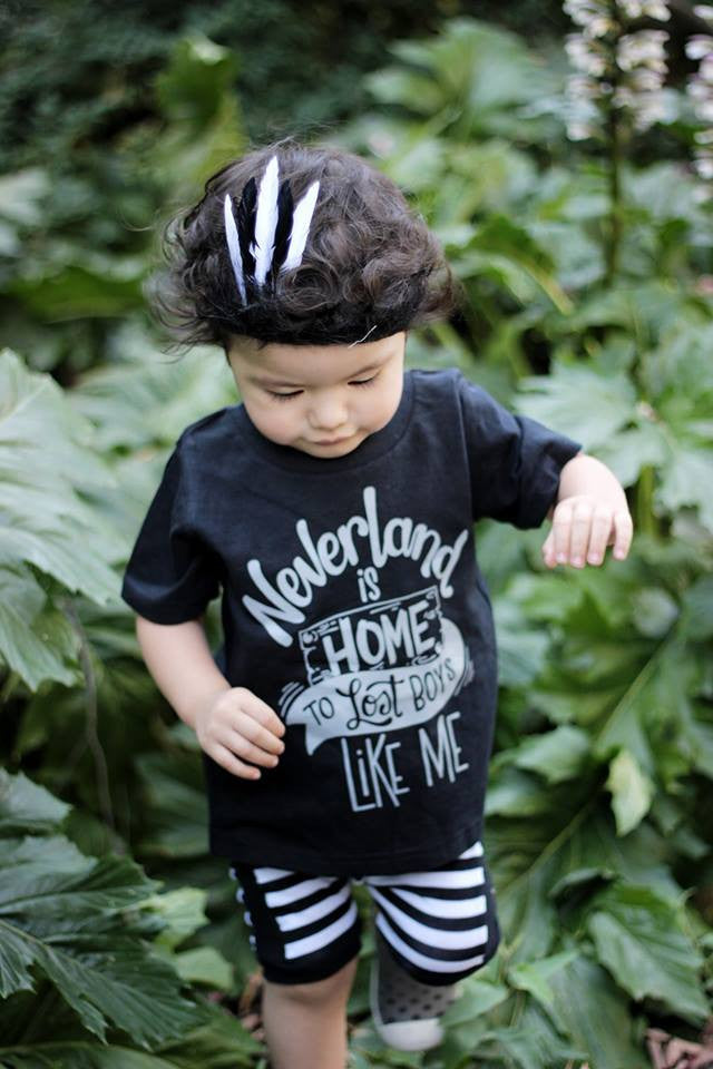 Neverland is Home to Lost Boys Toddler Tee