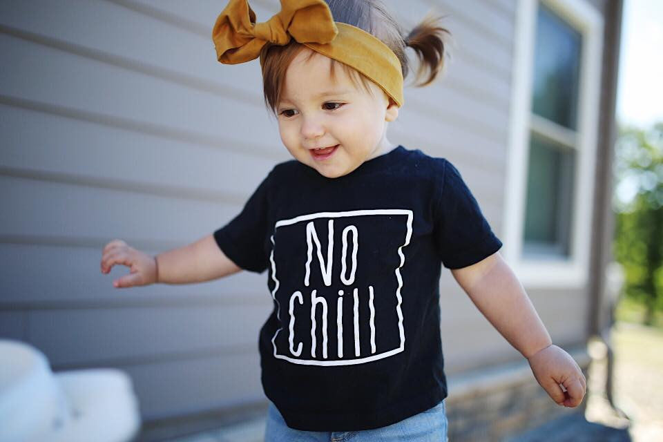 No Chill Kid's Tee