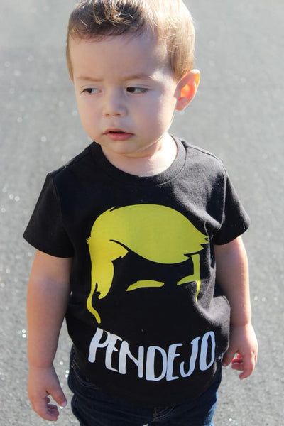 Pendejo Presidente Kid's Shirt