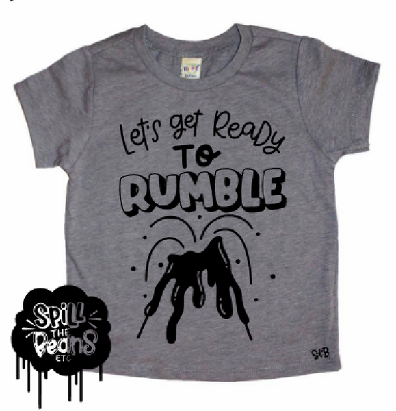 Let's Get Ready To Rumble Kid's Bodysuit or Tee