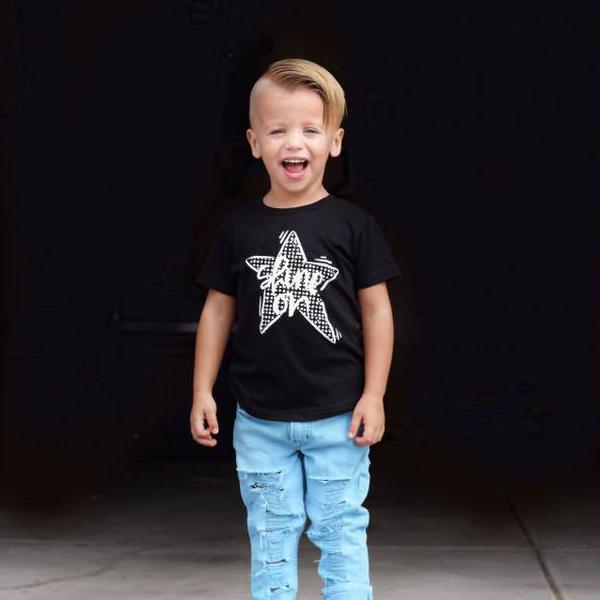 Shine On Kid's Bodysuit or Tee