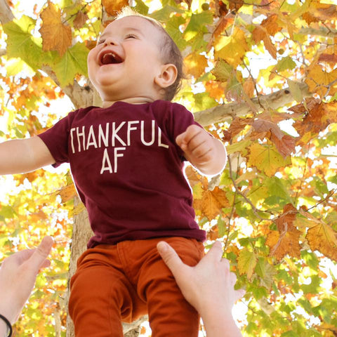Thankful AF Gold Option Kid's Shirt